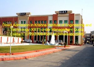 Direct Admission in Krishna Institute of Engineering and Technology (KIET) under Management Quota