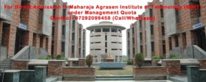 Direct Admission in Maharaja Agrasen Institute of Technology
