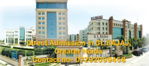 Direct Admission in GL BAJAJ