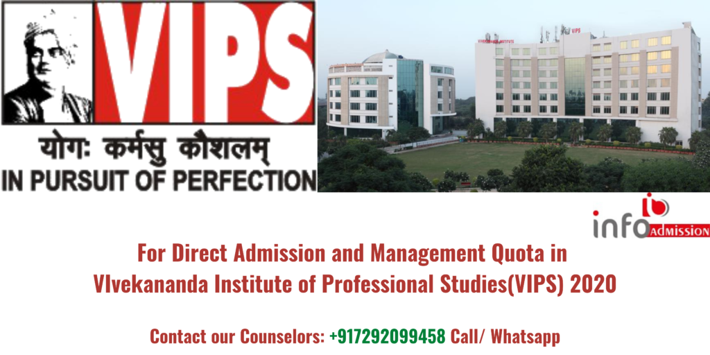 direct admission vips